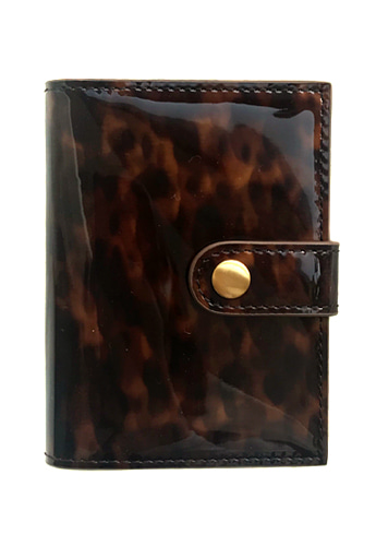 CARD WALLET (LEOPARD BROWN)