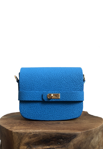 ACCORDION MINI BAG (BLUE)