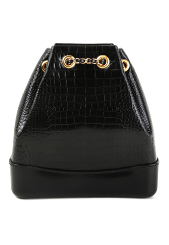 CROCODILE BACKPACK (BLACK)02월27일(수) 출고예정