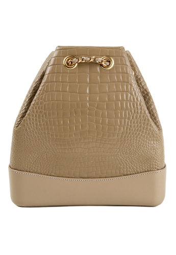 CROCODILE BACKPACK (BEIGE)02월27일(수) 출고예정