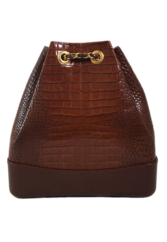 CROCODILE BACKPACK (BROWN)02월27일(수) 출고예정