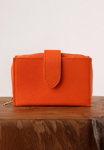 ACCORDION CARD WALLET [ORANGE]