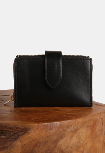 ACCORDION CARD WALLET [DELVAUX BLACK]